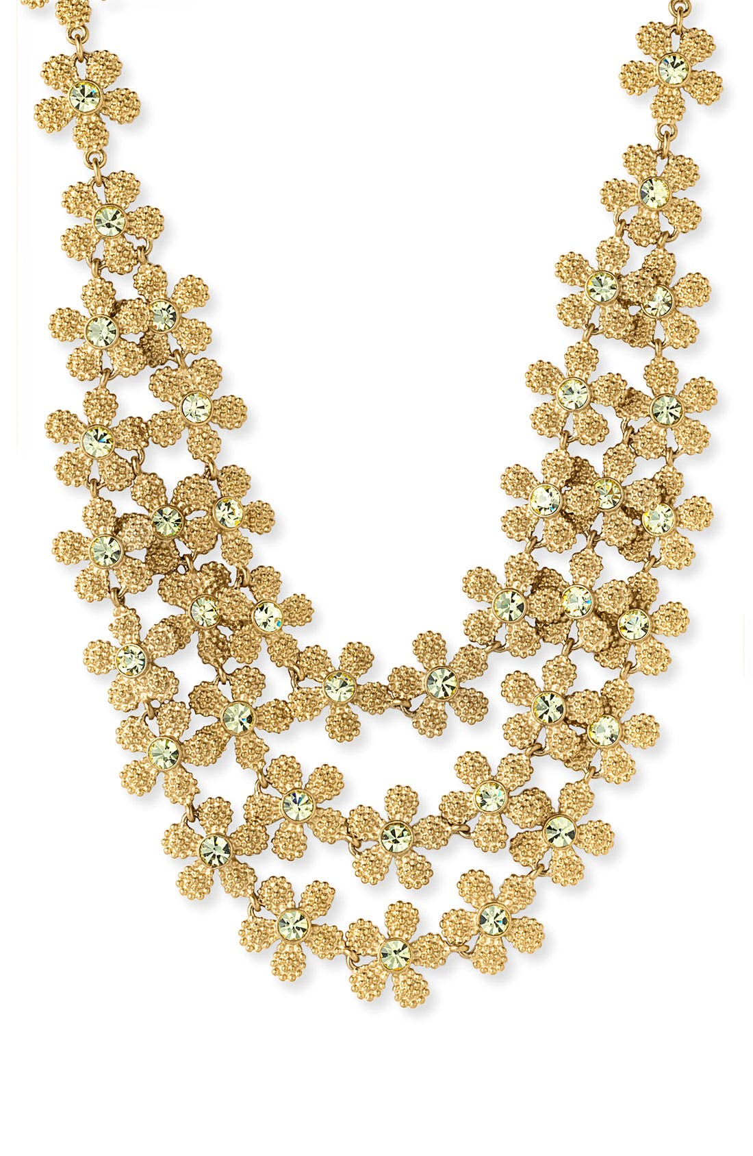 Alternate Image 1 Selected - kate spade triple row necklace