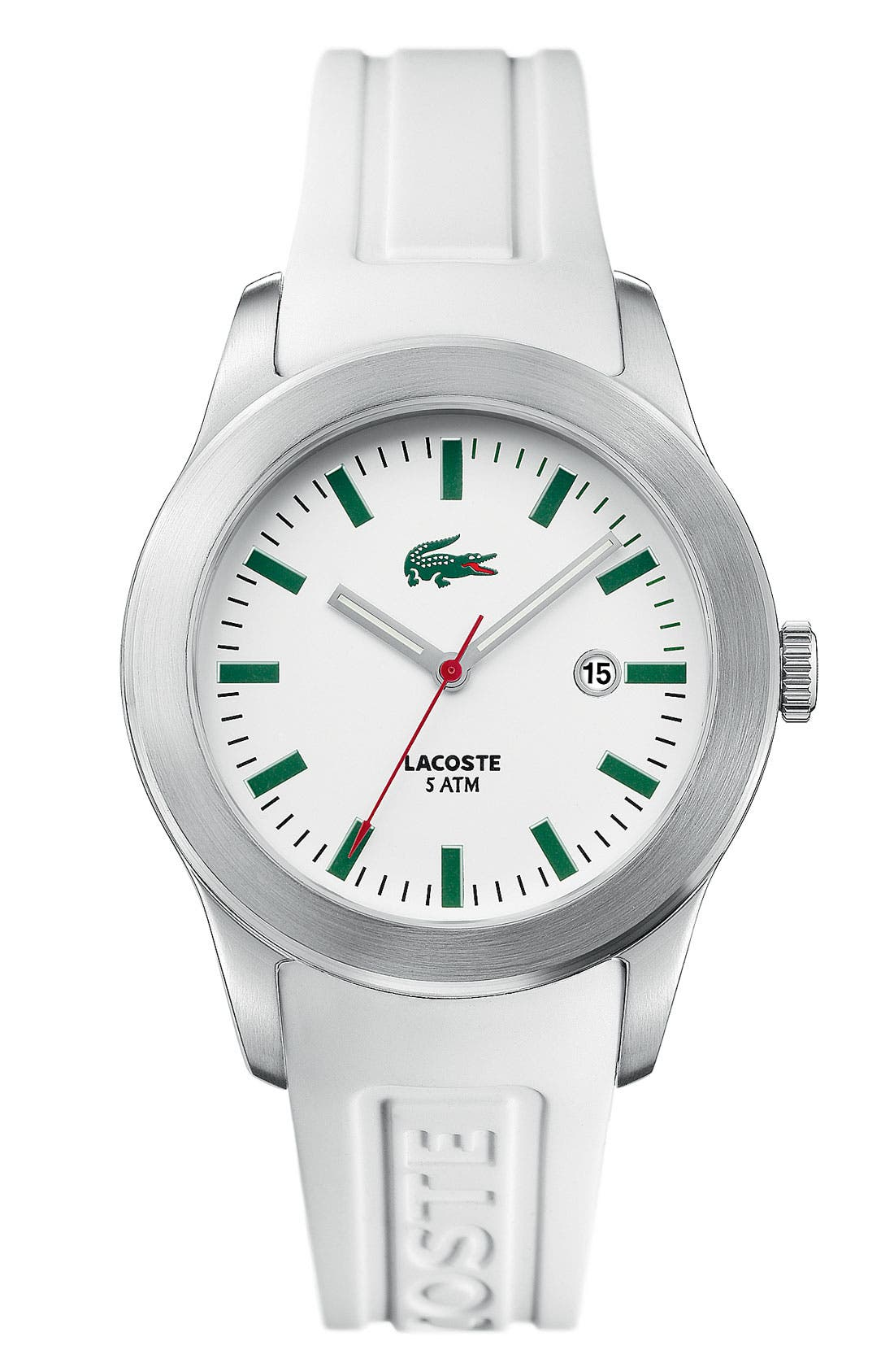 Alternate Image 1 Selected - Lacoste 'Advantage' Men's Round Watch, 42mm