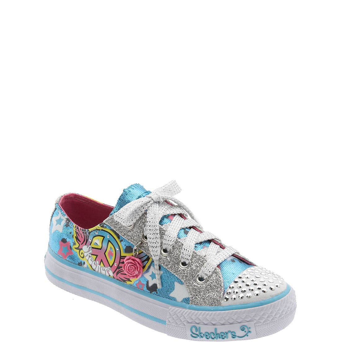 Alternate Image 1 Selected - SKECHERS 'Shuffles - Free Fall' Sneaker (Toddler, Little Kid & Big Kid)