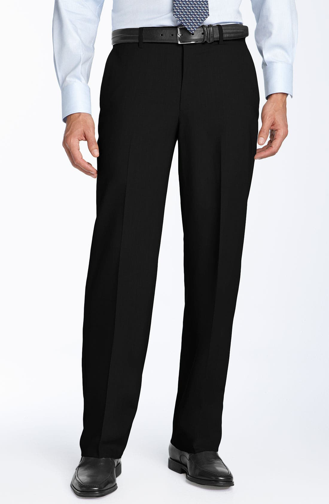 Alternate Image 1 Selected - Ballin Stain Resistant Flat Front Trousers