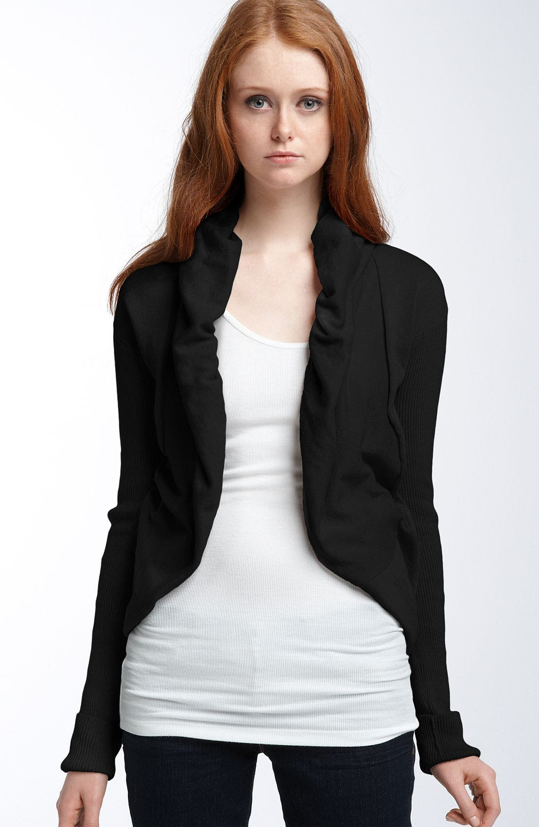 Alternate Image 1 Selected - James Perse Jersey Bolero