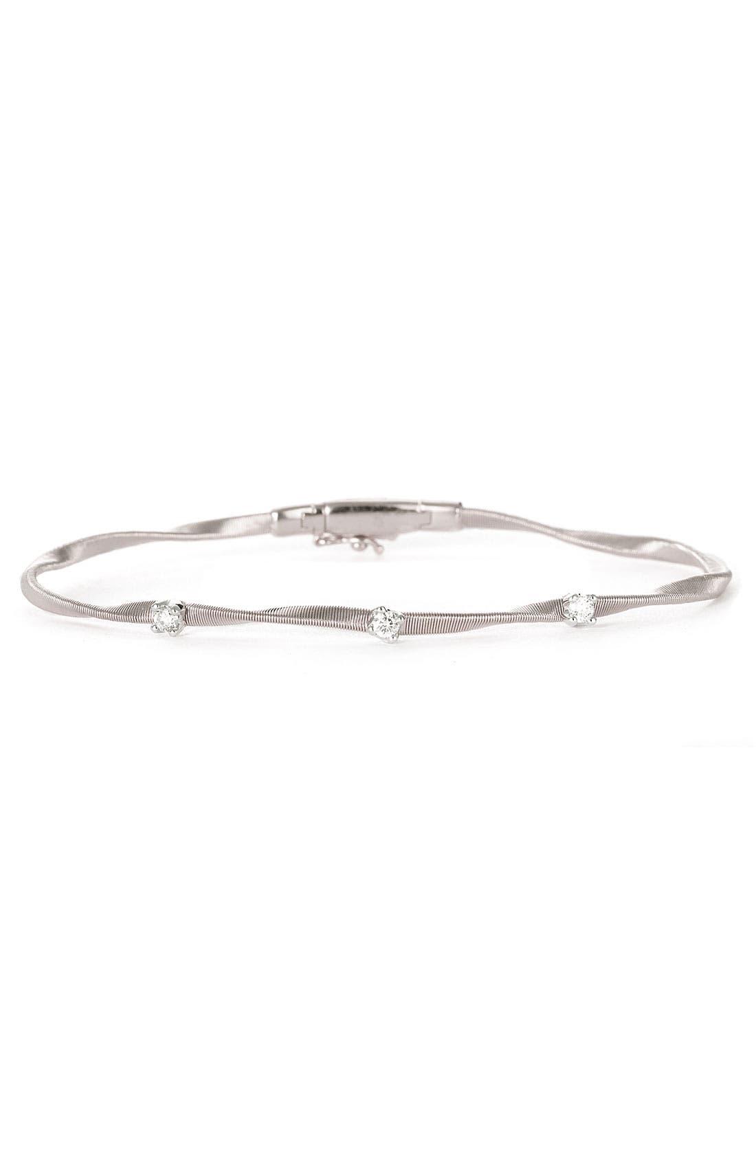 Alternate Image 1 Selected - Marco Bicego 'Marrakech' Single Strand Diamond Bracelet