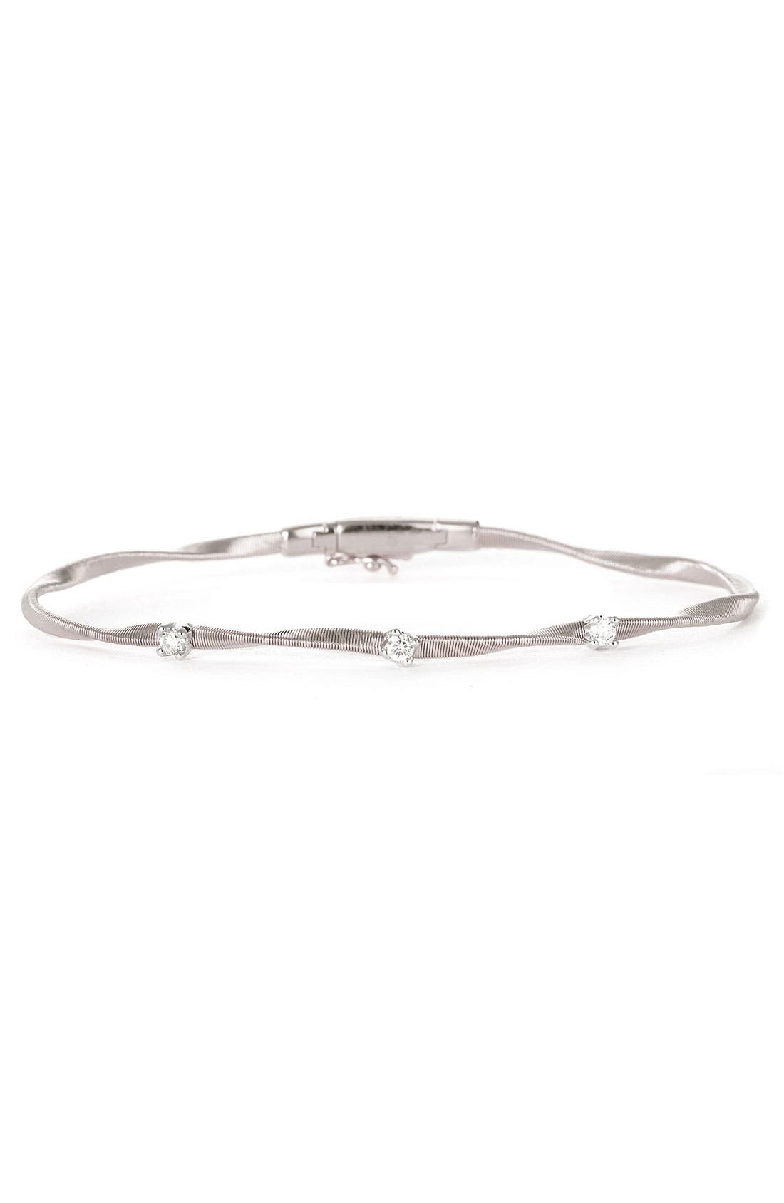Main Image - Marco Bicego 'Marrakech' Single Strand Diamond Bracelet