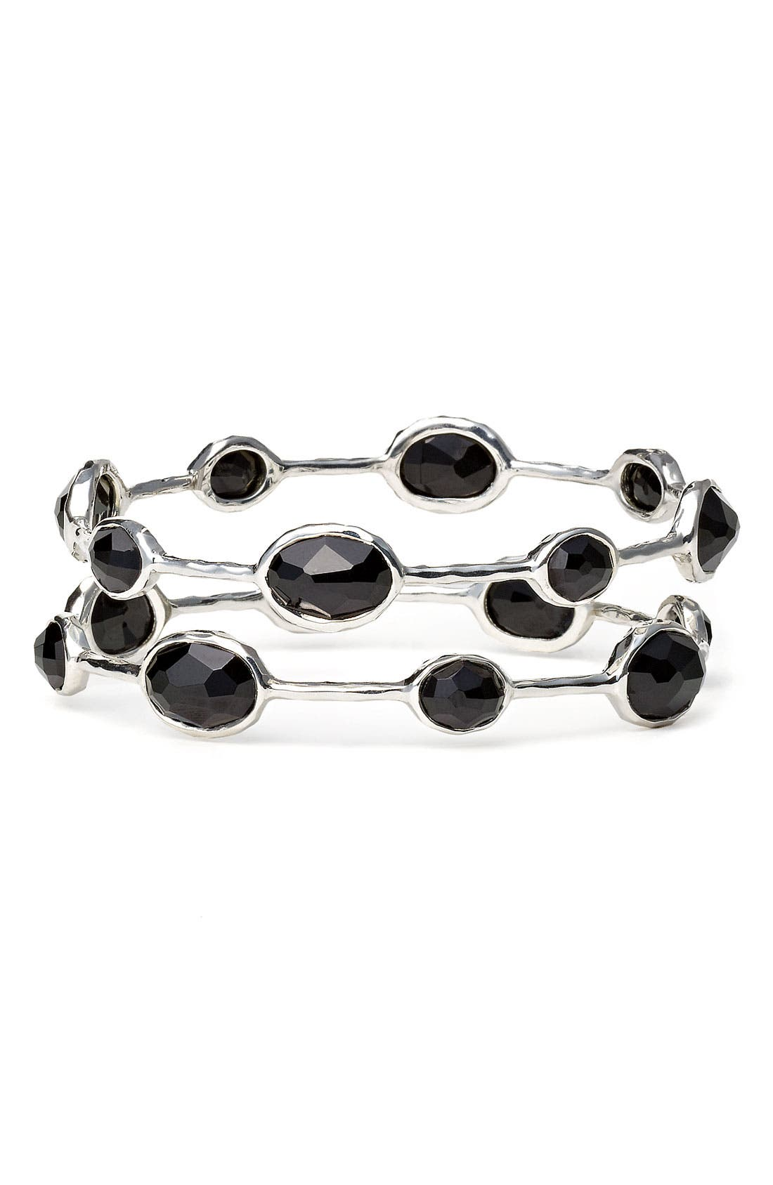 Alternate Image 1 Selected - Ippolita 'Rock Candy' 8-Stone Bangle (Online Only)