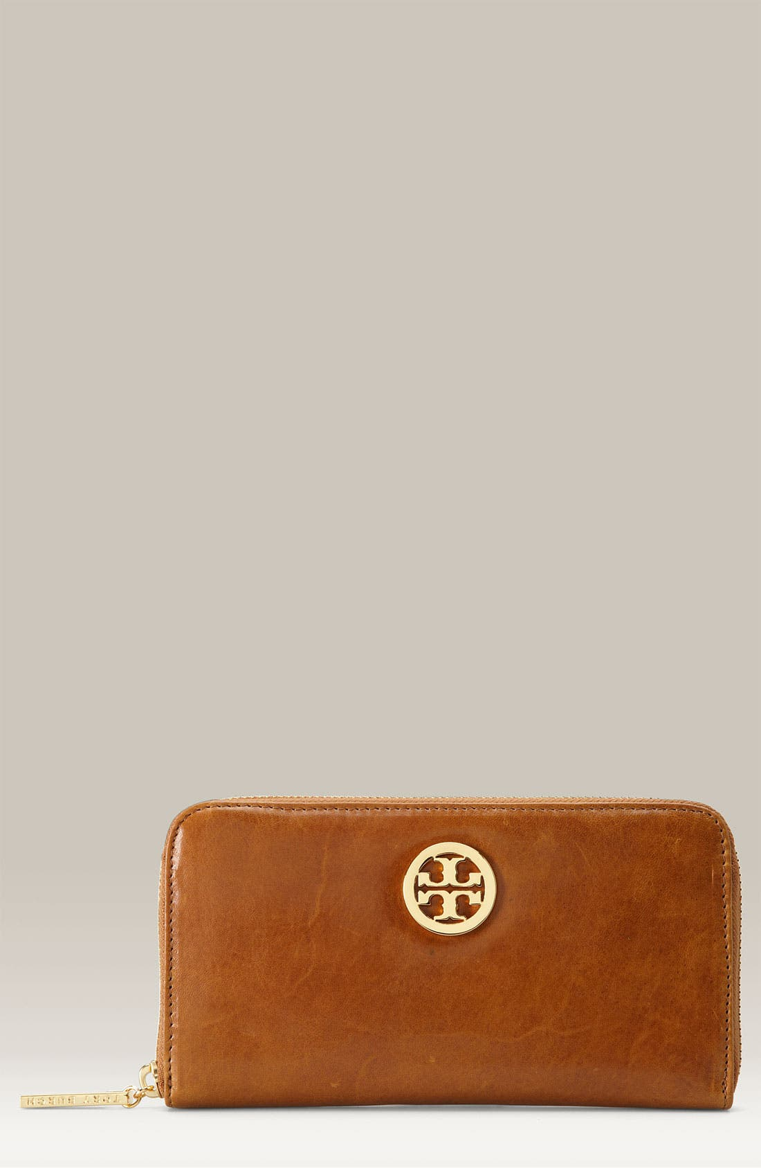 Main Image - Tory Burch Zip Around Continental Wallet