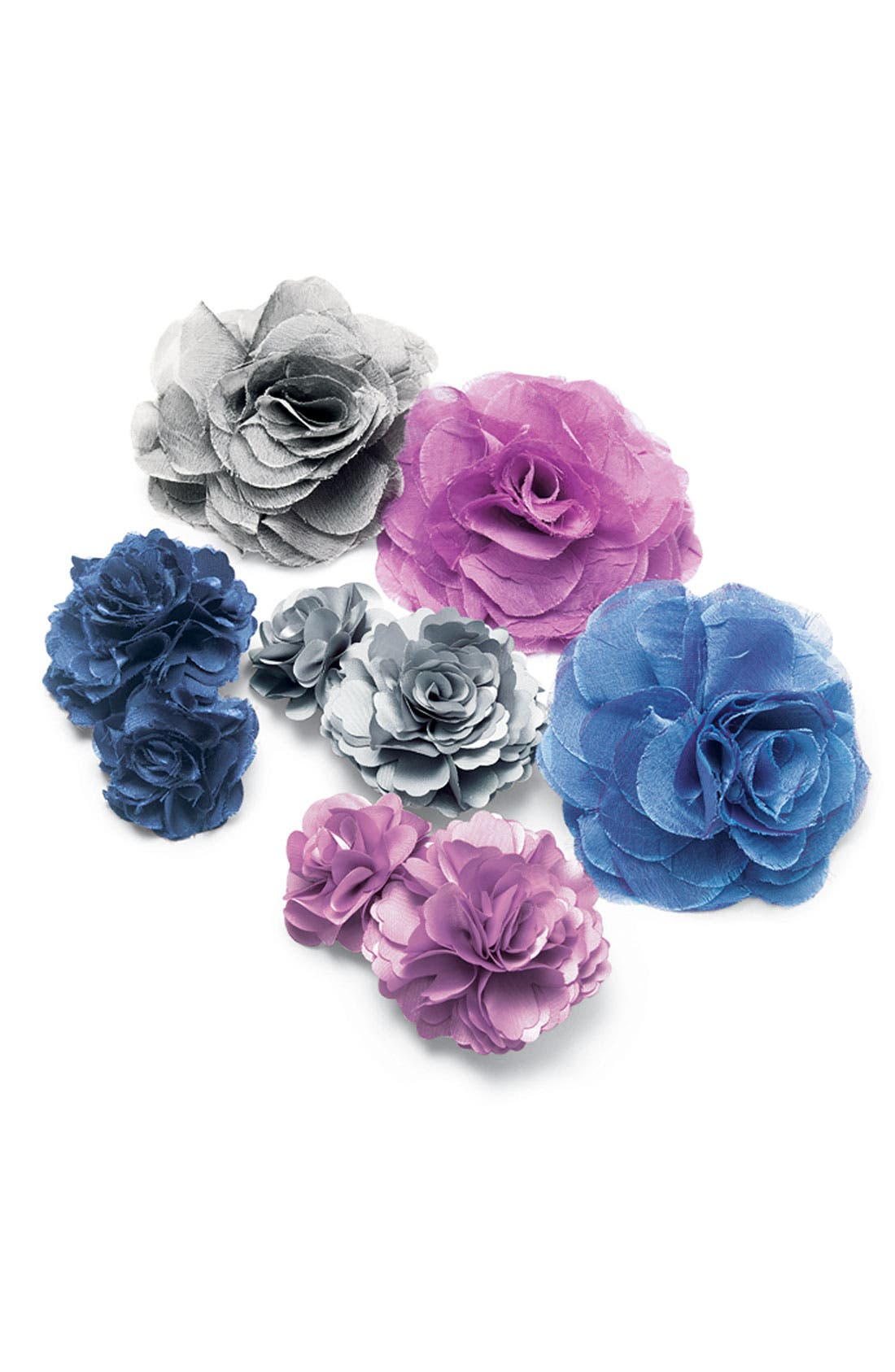 Alternate Image 2  - Tasha Chiffon Flower Clip