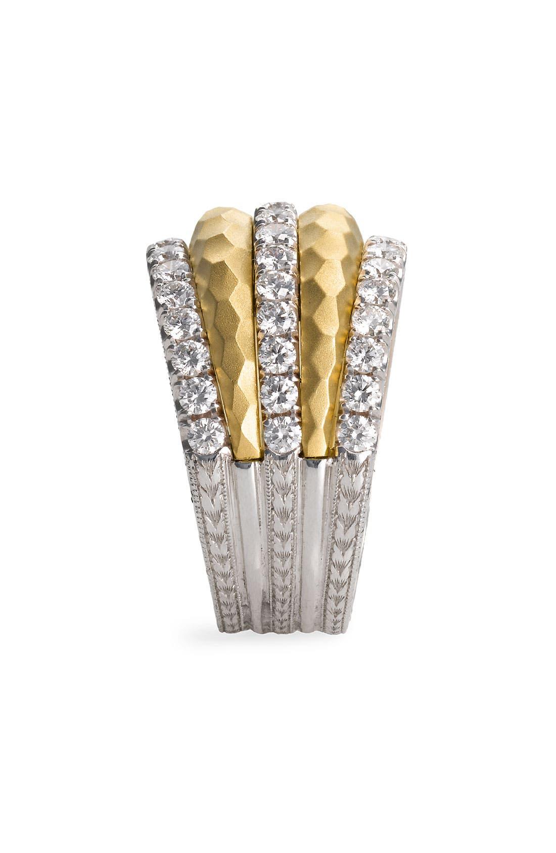Alternate Image 2  - Jack Kelége 'Byzantine' Gold & Diamond Ring