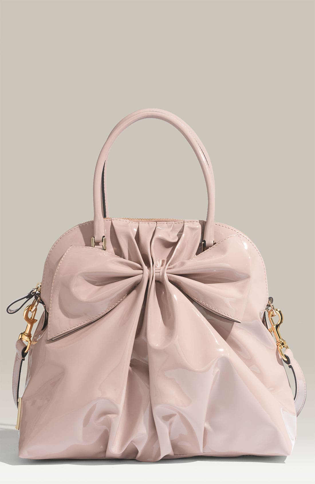 Alternate Image 1 Selected - Valentino 'Bon Bon Dome Bow' Patent Leather Satchel