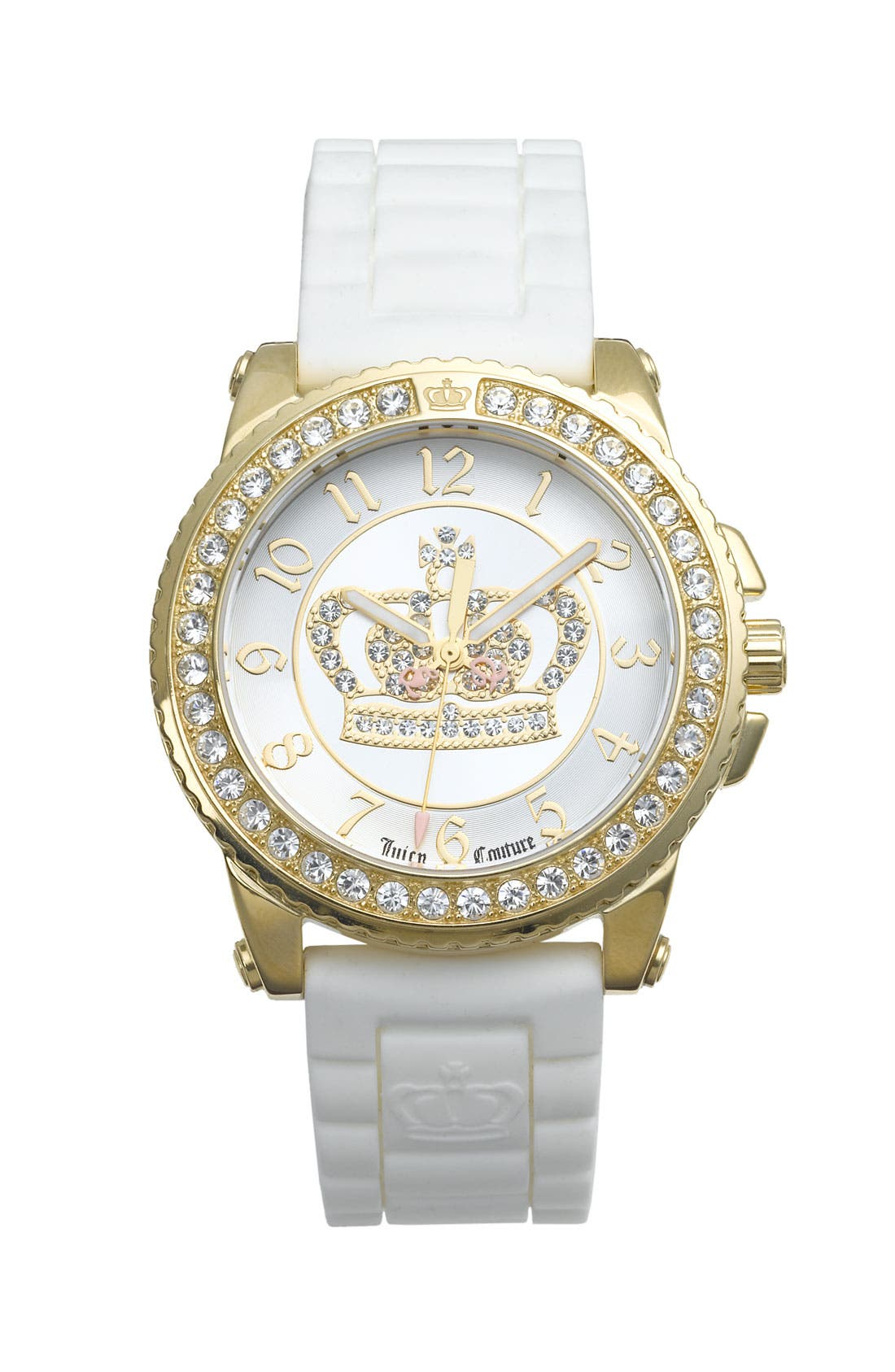 Main Image - Juicy Couture 'Pedigree' Jelly Strap Watch