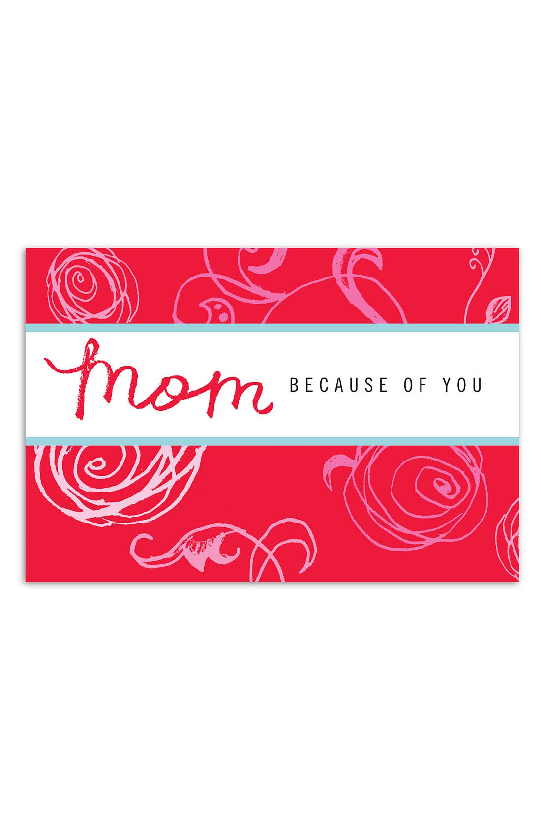 Main Image - 'Mom, Because of You' Book