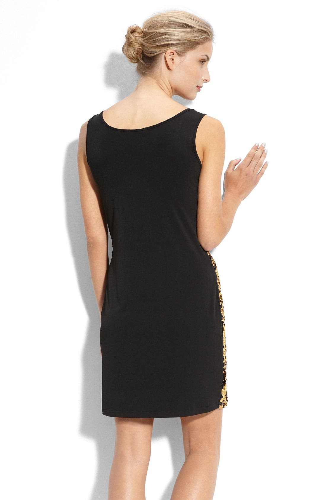 Alternate Image 2  - Calvin Klein Sequin Tank Dress
