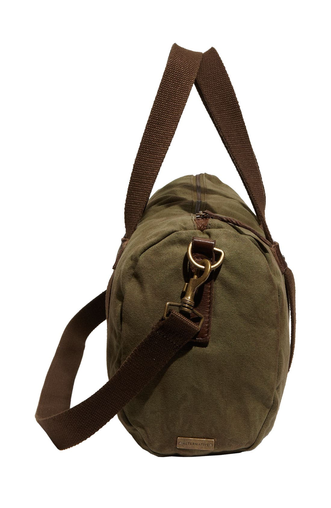 Alternate Image 3  - Alternative Canvas Duffel Bag