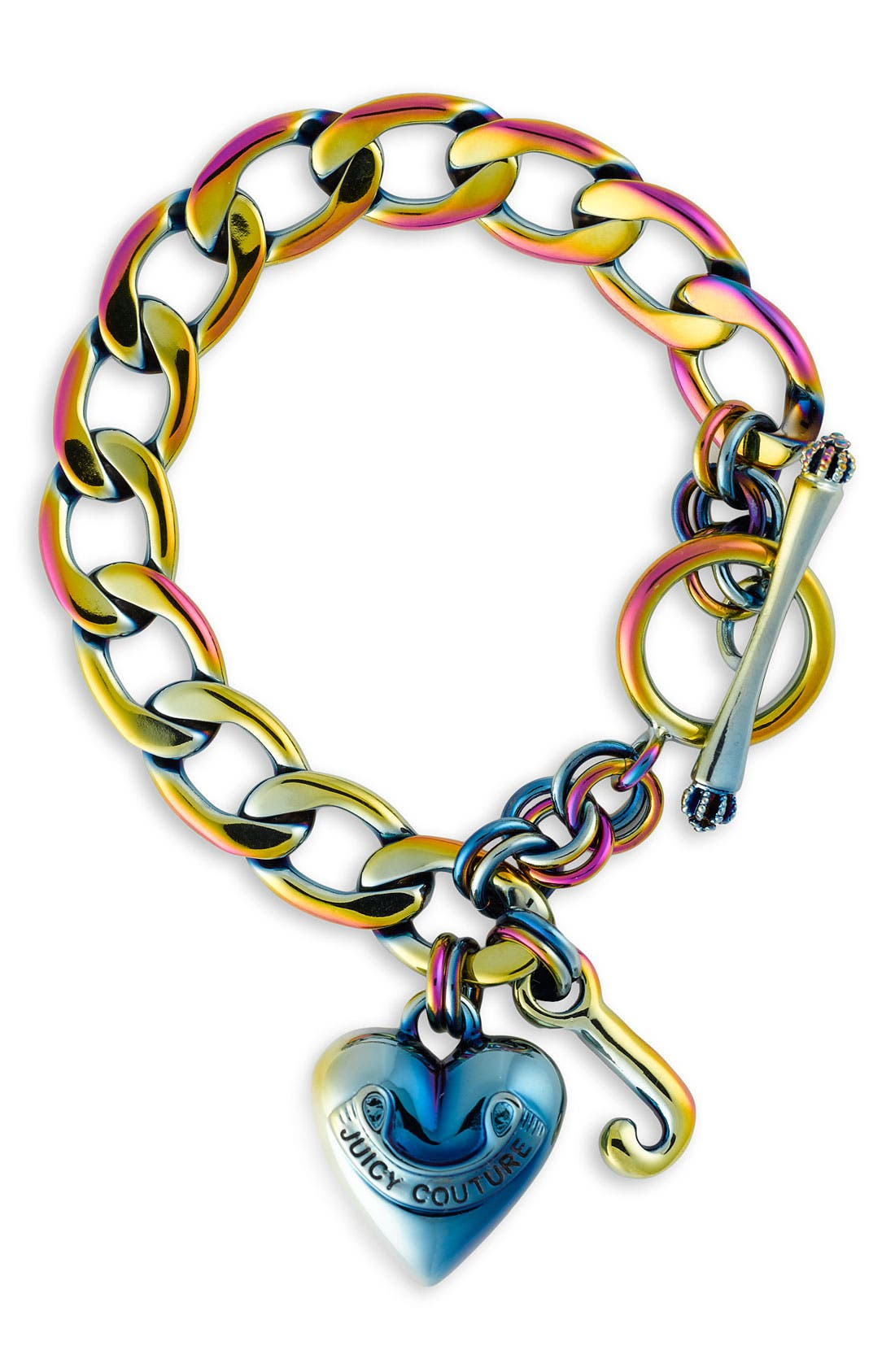 Alternate Image 1 Selected - Juicy Couture Pavé Starter Charm Bracelet