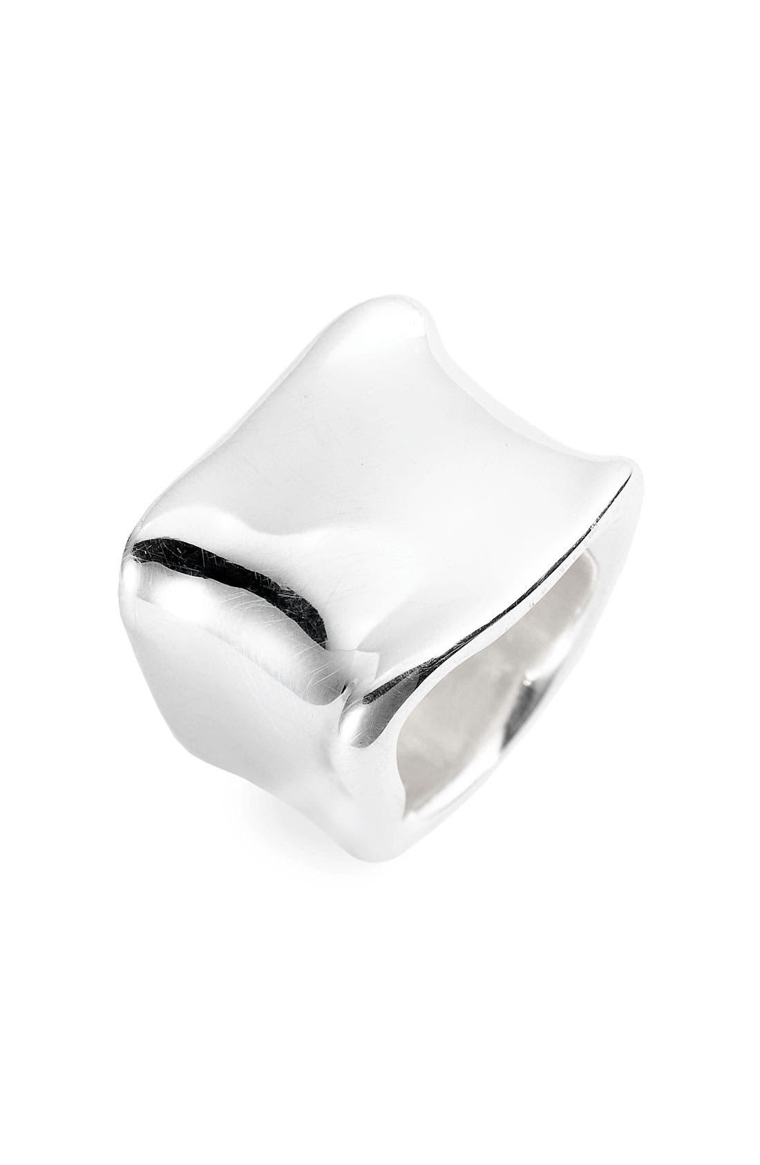 Alternate Image 1 Selected - Simon Sebbag Square Silver Ring