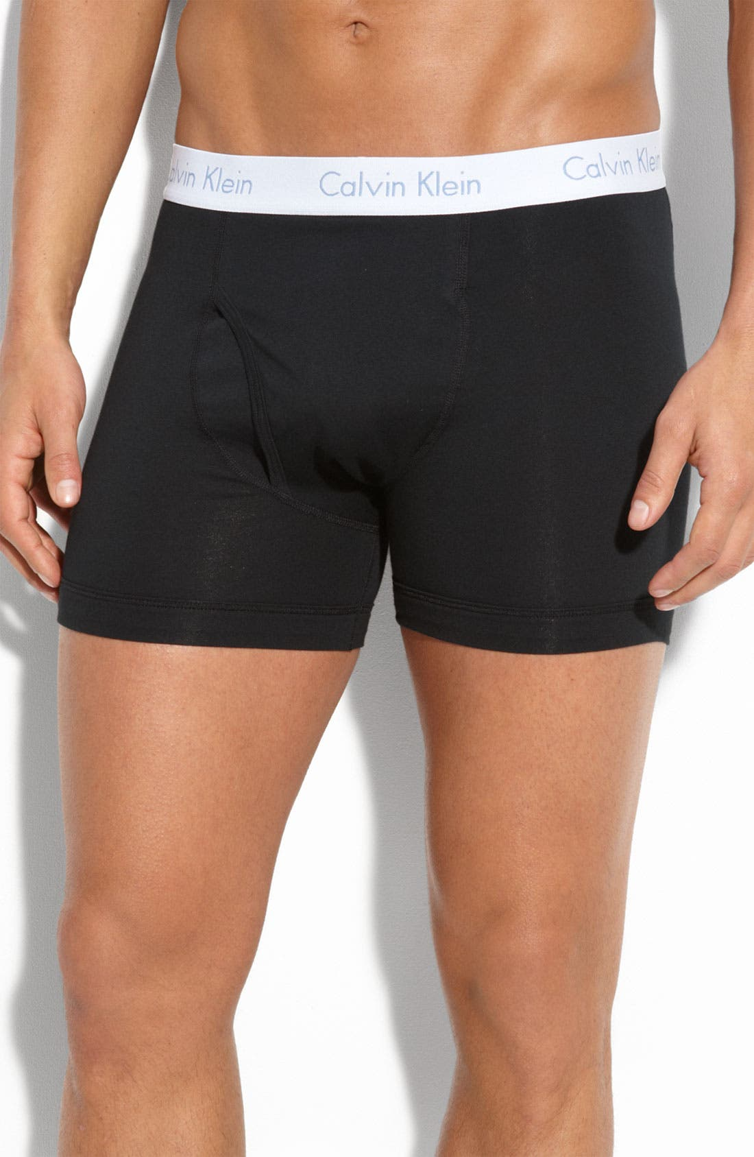Alternate Image 1 Selected - Calvin Klein 'Flexfit' Boxer Briefs