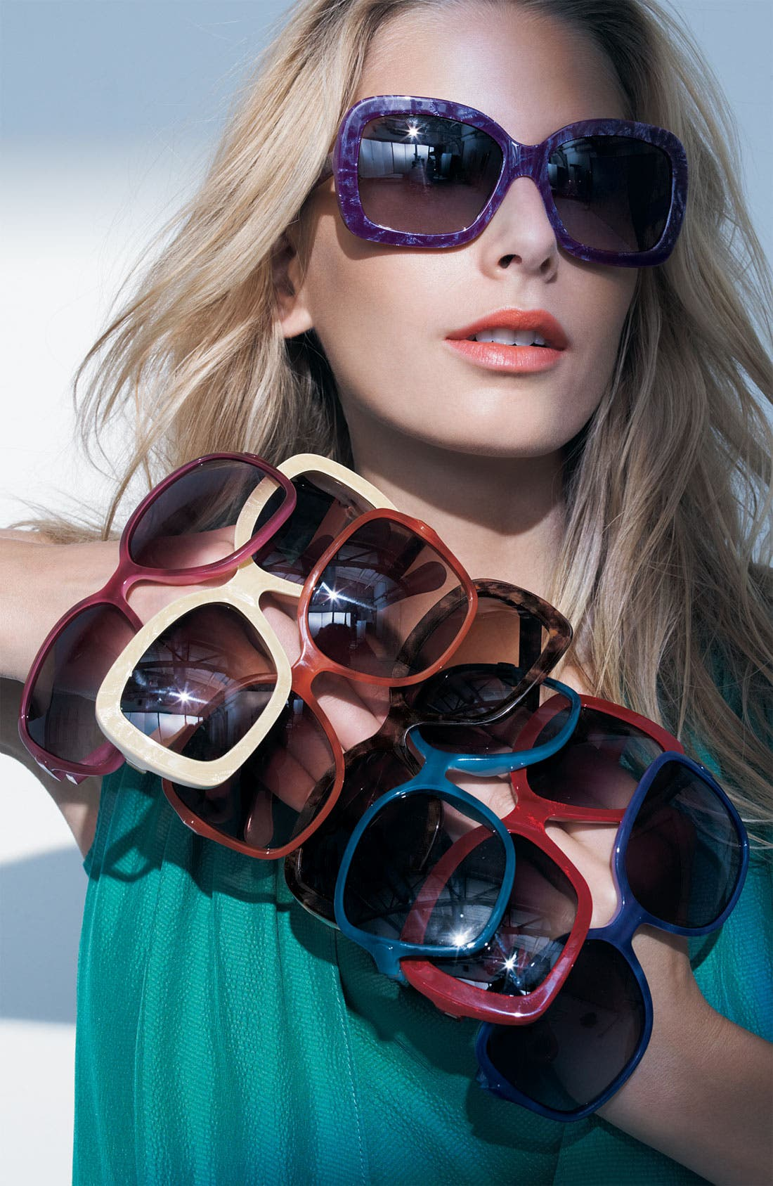 Alternate Image 2  - D&G 'Large Glam' Square Sunglasses