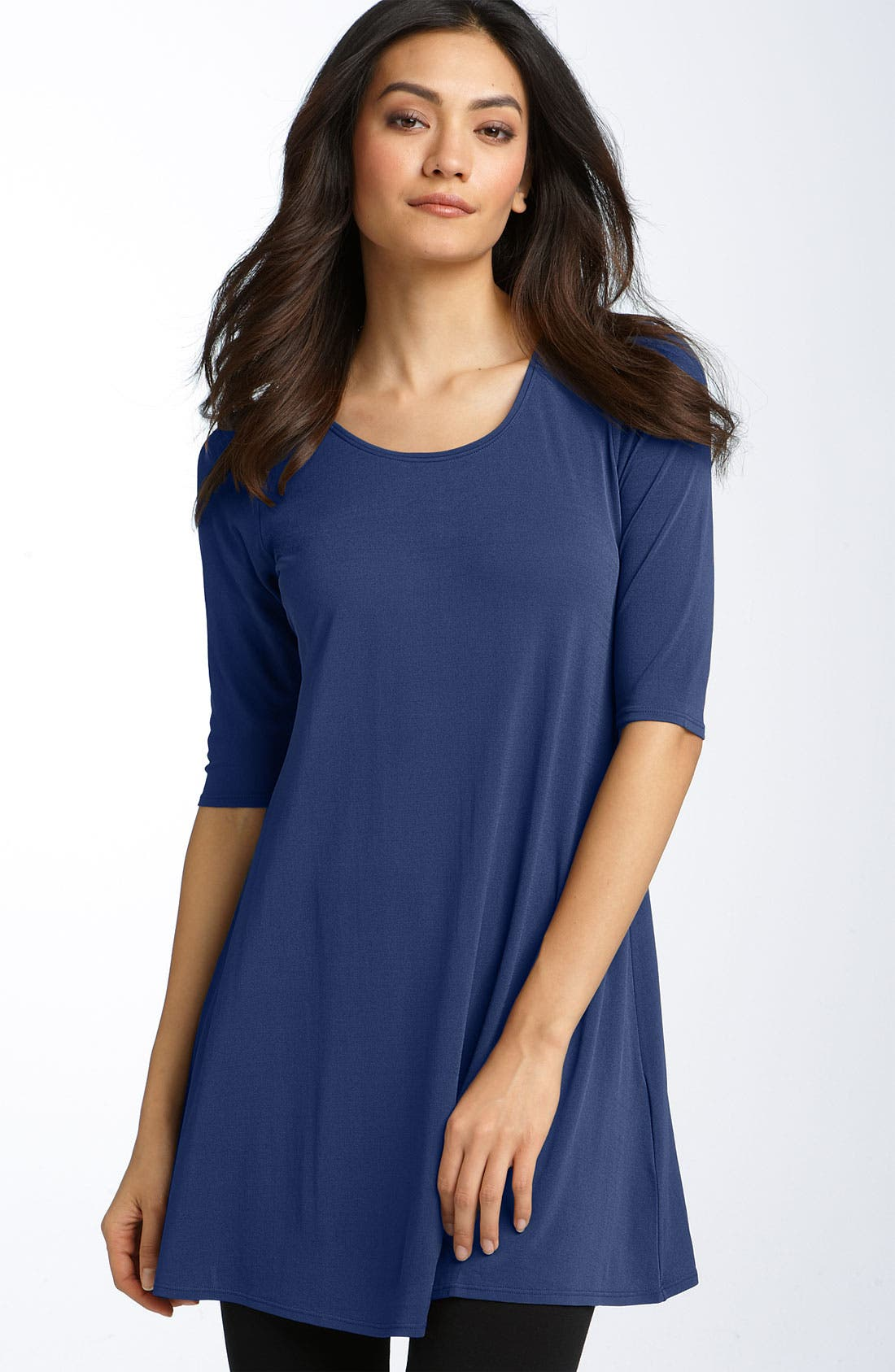 Alternate Image 1 Selected - Eileen Fisher Silk Jersey Tunic