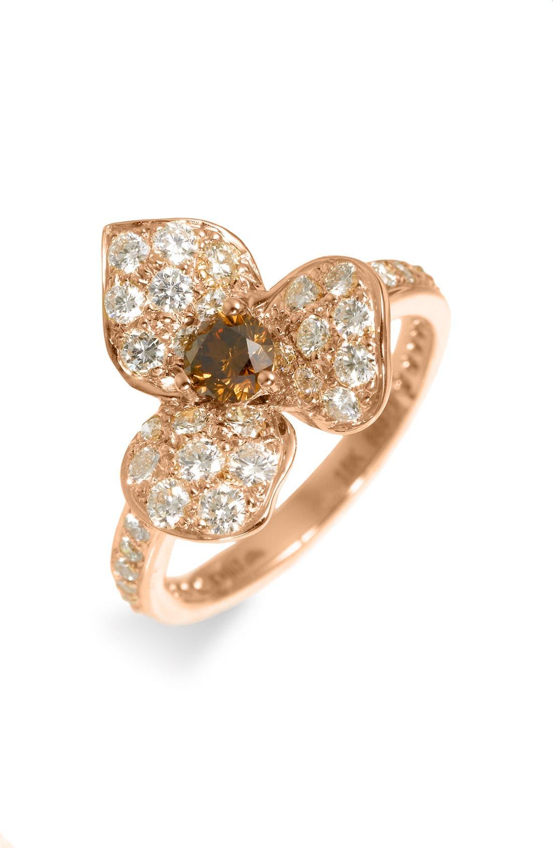 Main Image - Kwiat Champagne Diamond Flower Ring