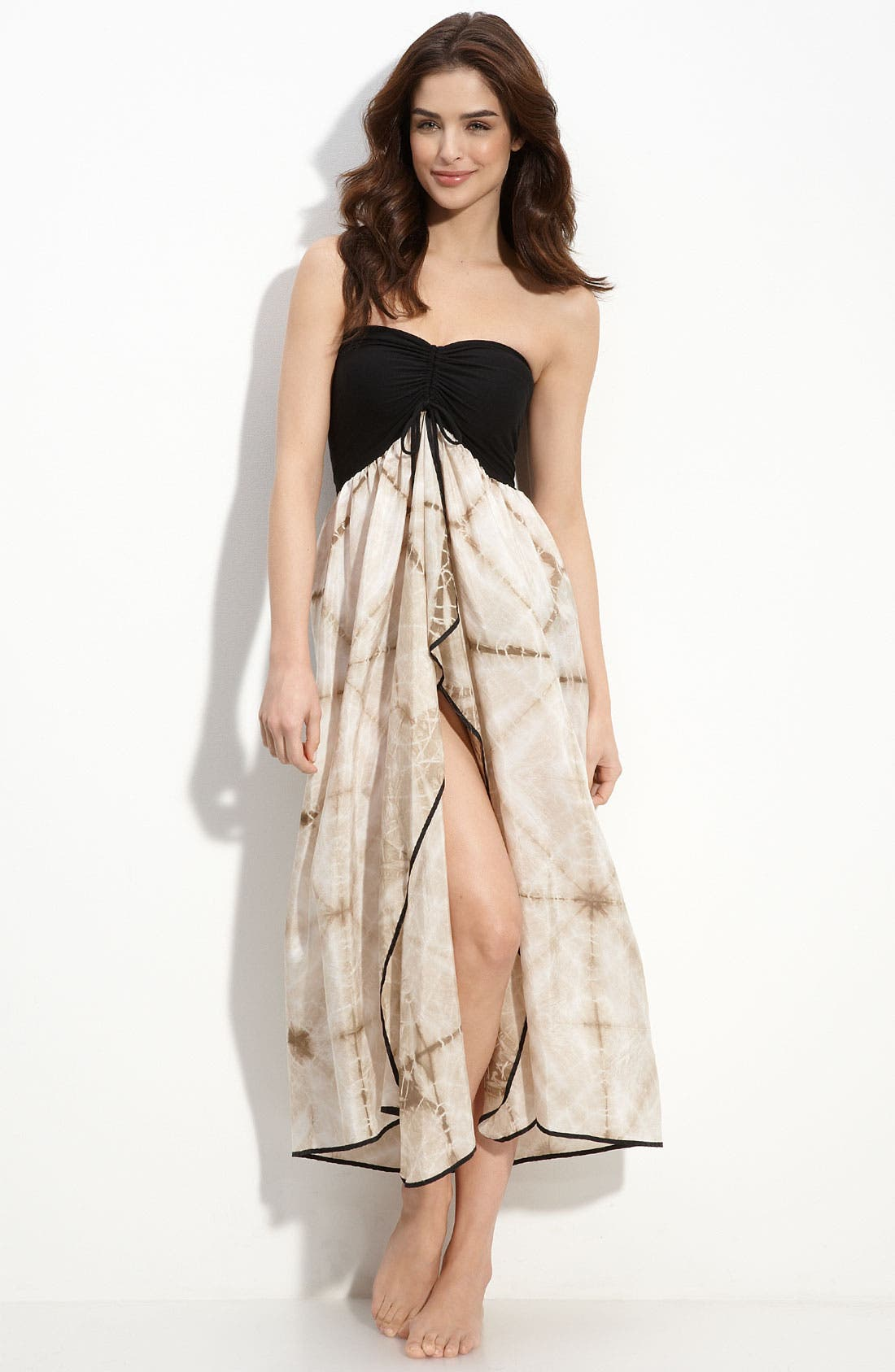 Main Image - Robin Piccone Tie Dye Cover-Up Dress
