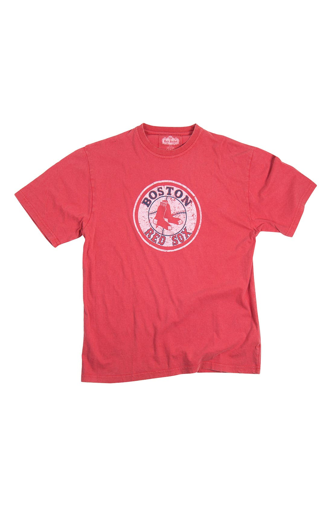 Main Image - Red Jacket 'Boston Red Sox' Trim Fit T-Shirt (Men)