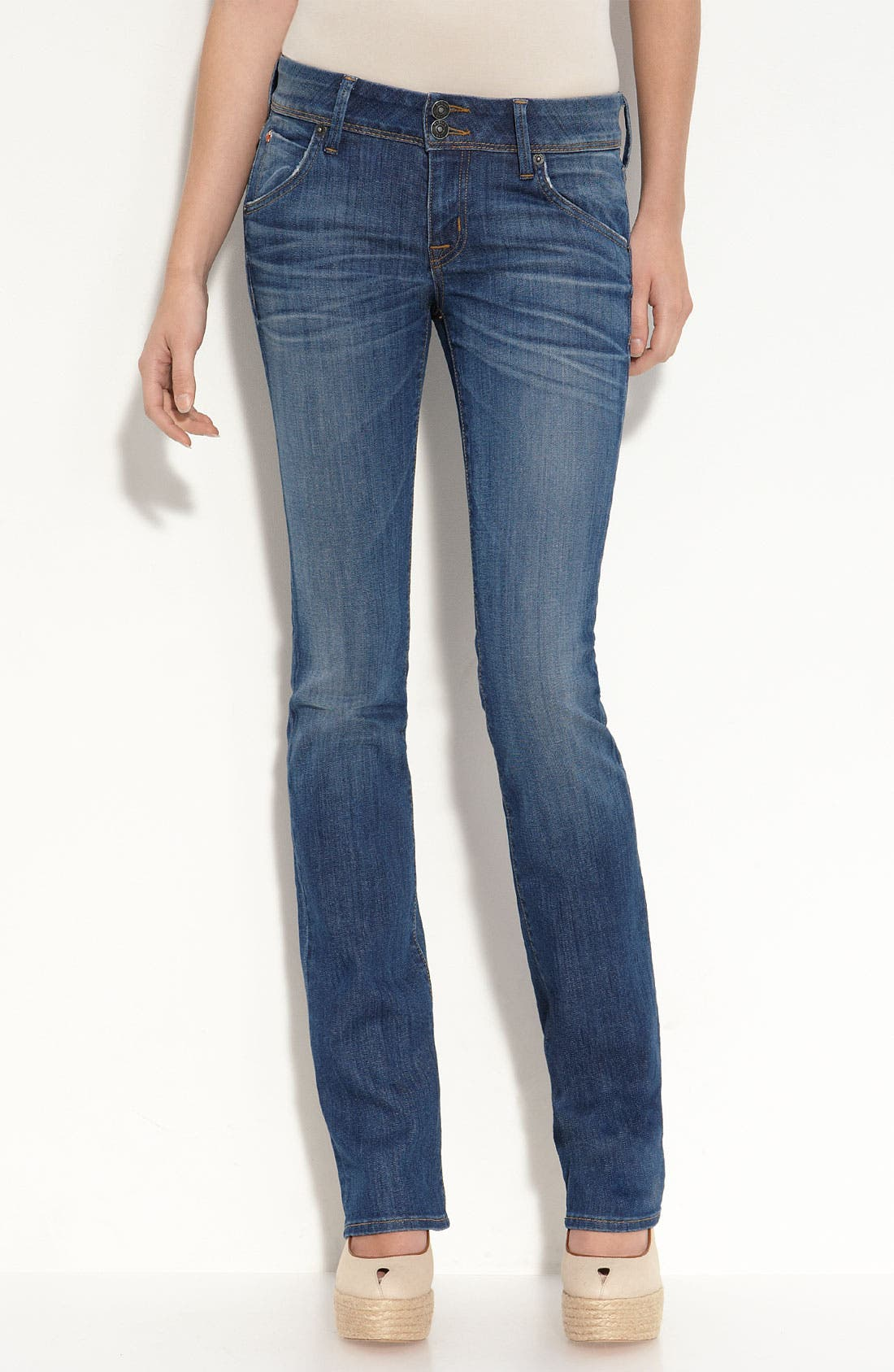 Alternate Image 1 Selected - Hudson Jeans 'Baby Boot' Bootcut Stretch Denim Jeans (I Want To)