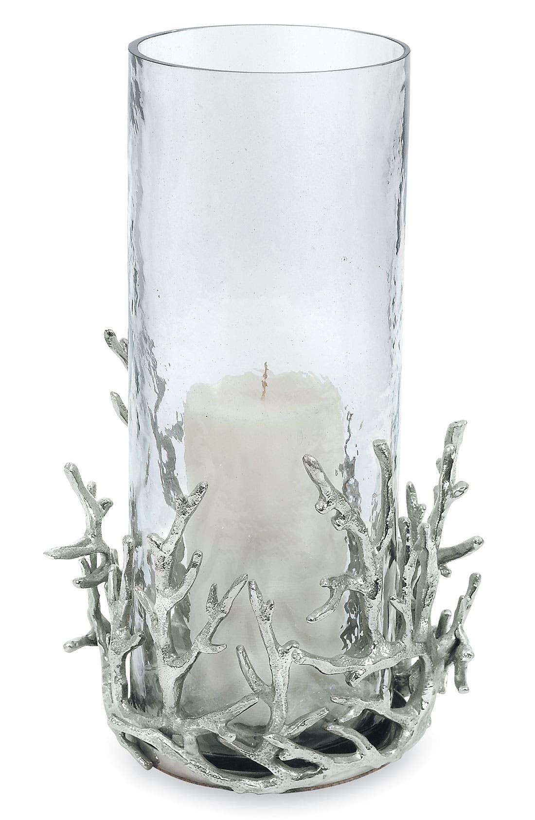 Main Image - Michael Aram 'Ocean Coral' Hurricane Vase