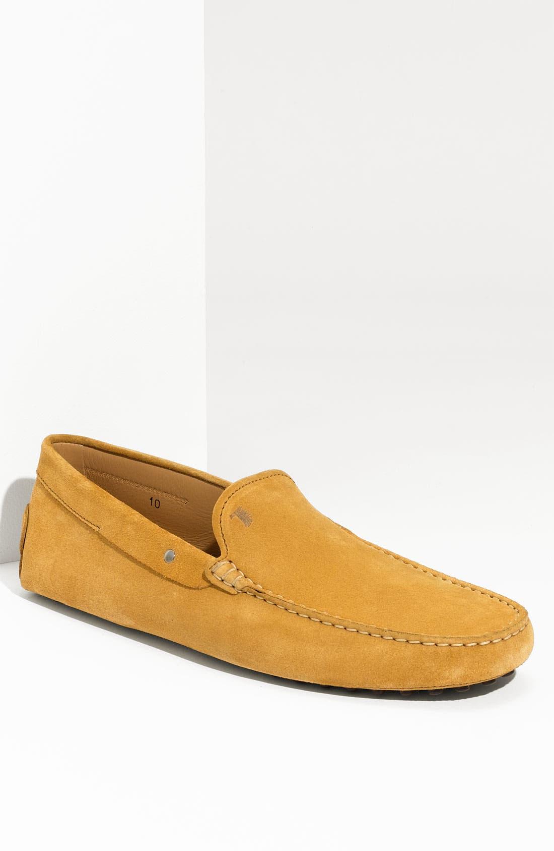 Alternate Image 1 Selected - Tod's 'Gommini' Venetian Driving Shoe