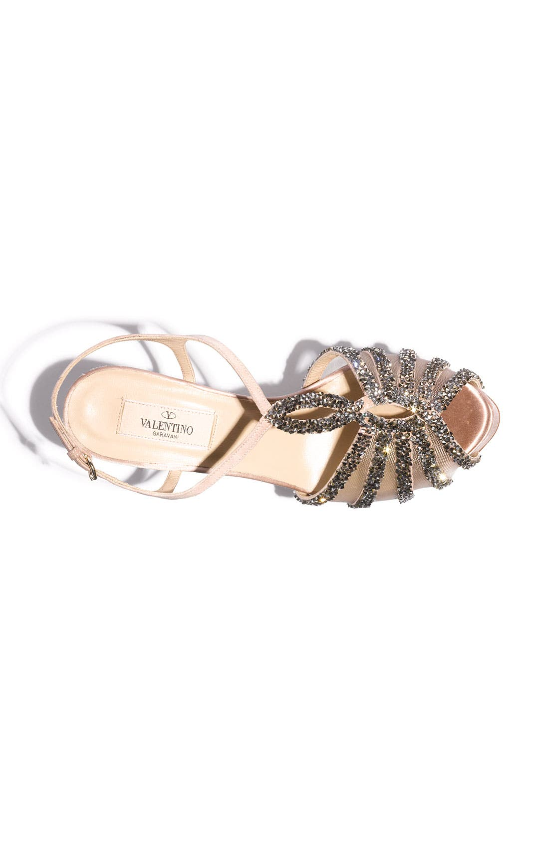 Alternate Image 3  - Valentino Embellished T-Strap Sandal