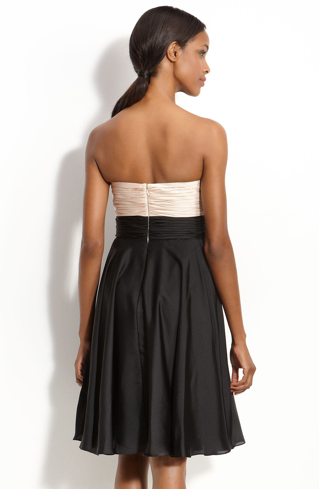 Alternate Image 2  - JS Collections Pleated Strapless Dress