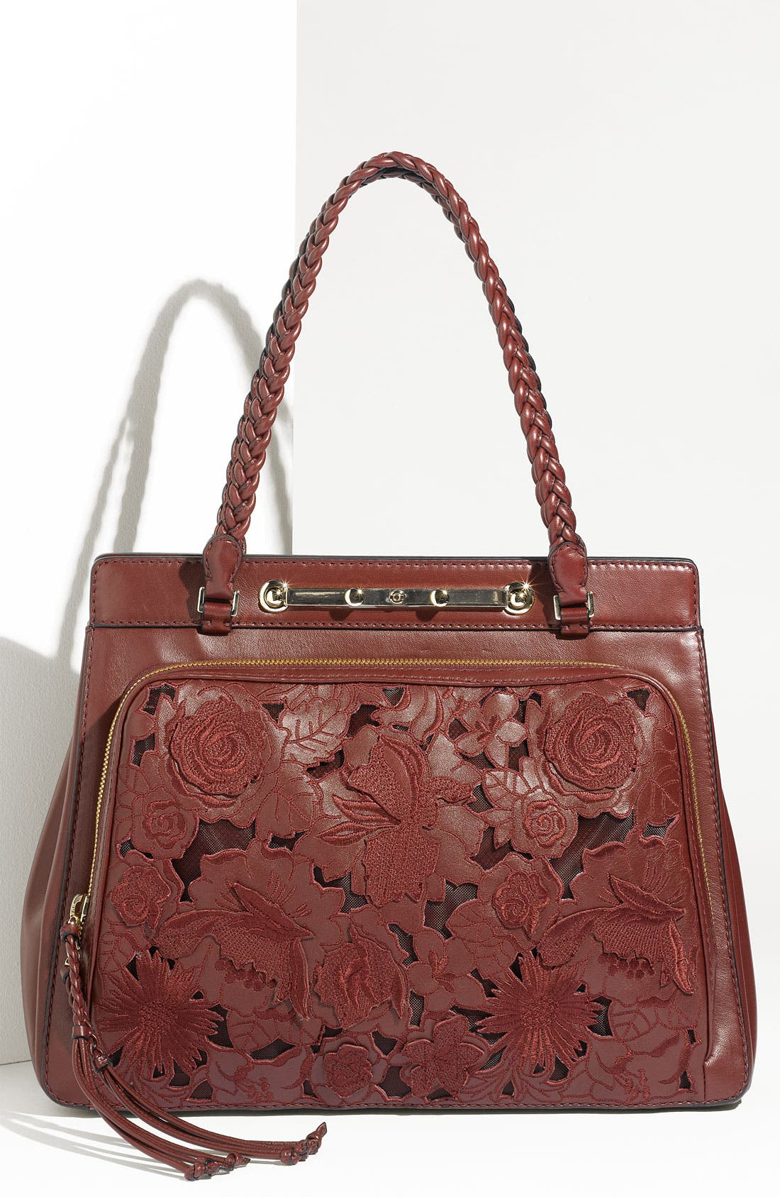 Alternate Image 1 Selected - Valentino 'Demetra' Double Handle Bag