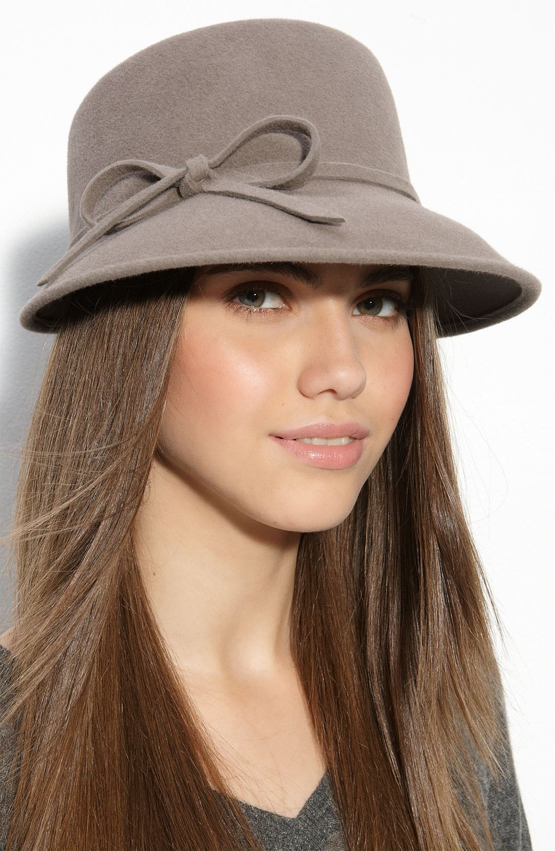 Alternate Image 1 Selected - Eric Javits 'Bow' Rabbit Hair Felt Hat