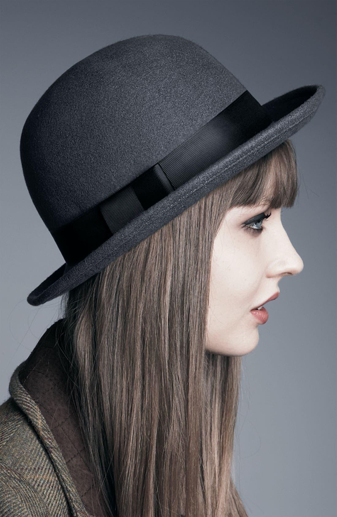 Alternate Image 2  - Tarnish Wool Bowler Hat