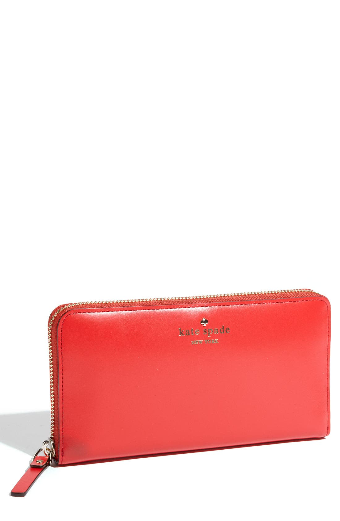 Main Image - kate spade new york 'tudor city - lacey' zip around wallet