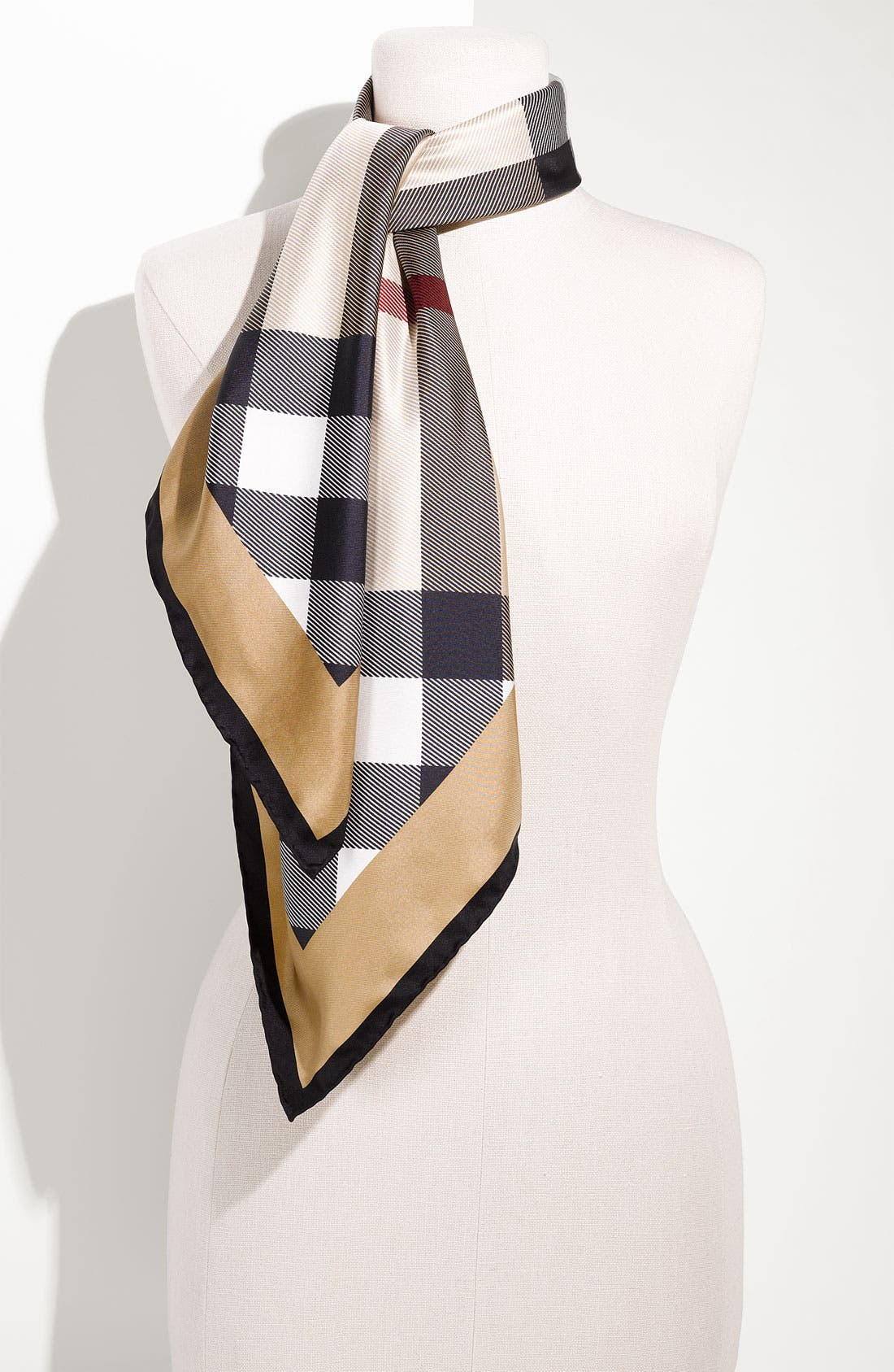 Alternate Image 1 Selected - Burberry Tweed Check Scarf