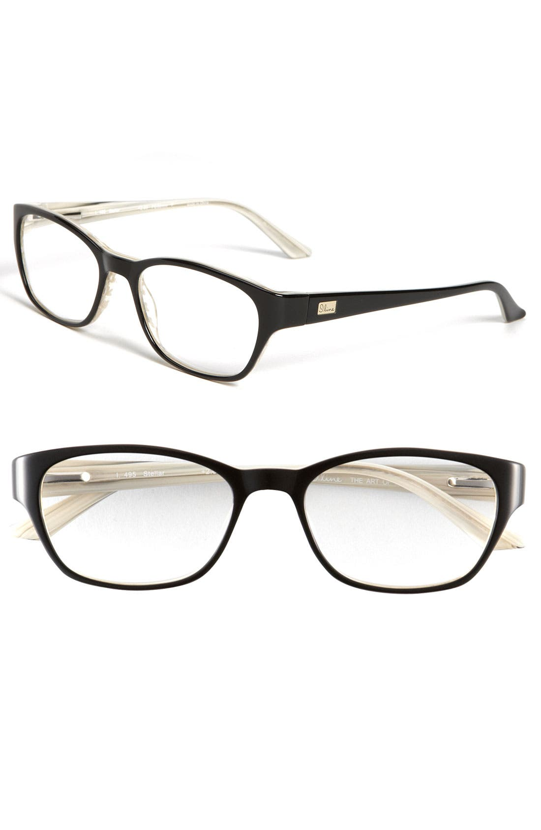 Alternate Image 1 Selected - I Line Eyewear 'Stellar' 50mm Reading Glasses