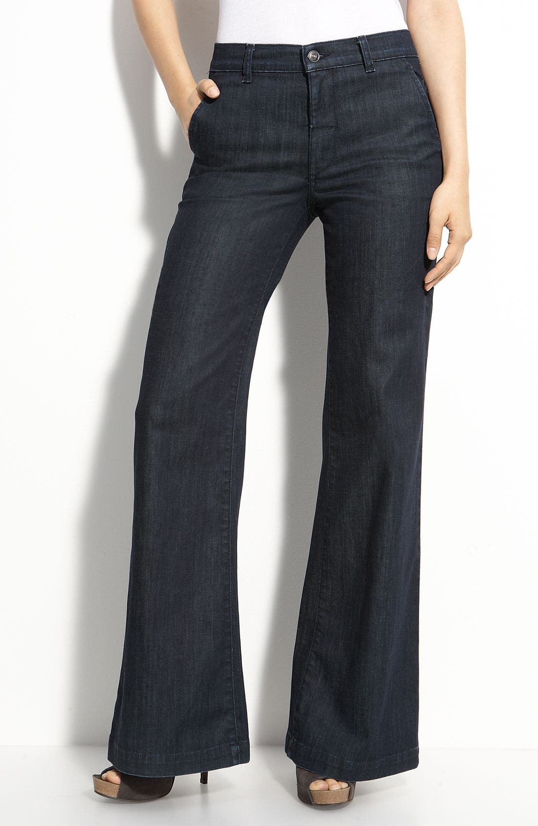 Alternate Image 2  - Vince Stretch Denim Trousers