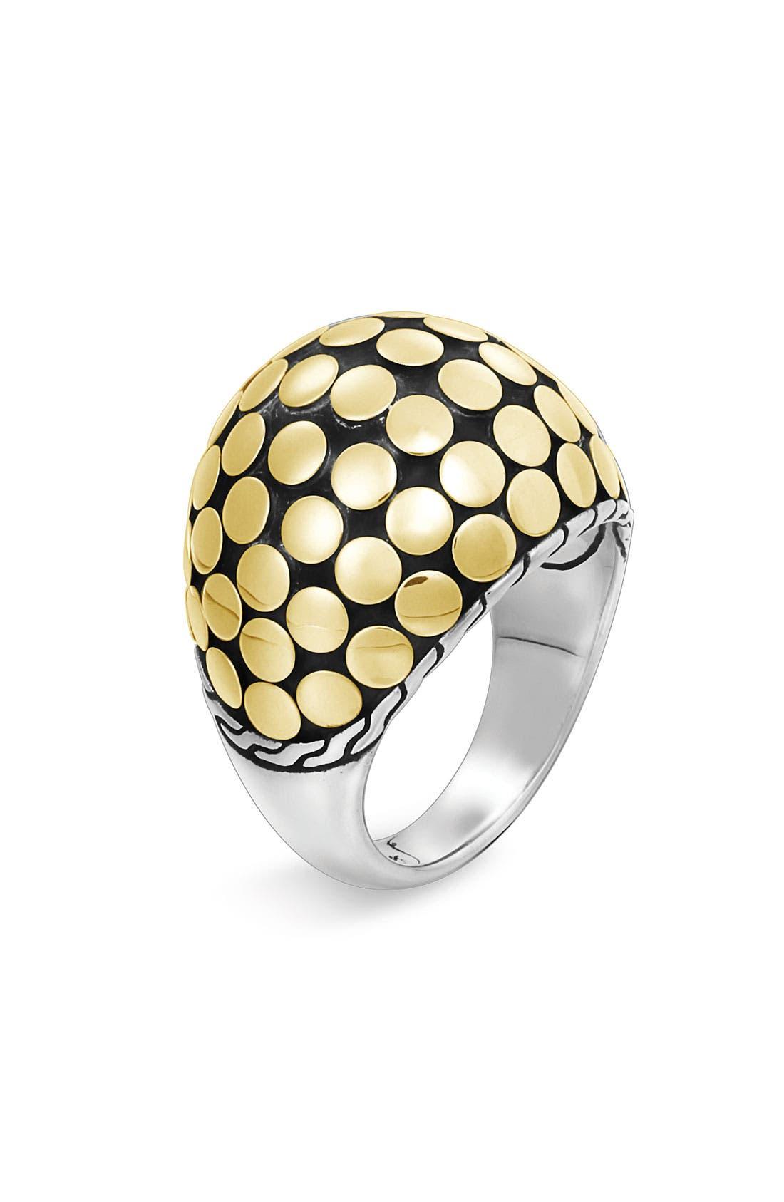 Main Image - John Hardy 'Dot Gold' Dome Ring