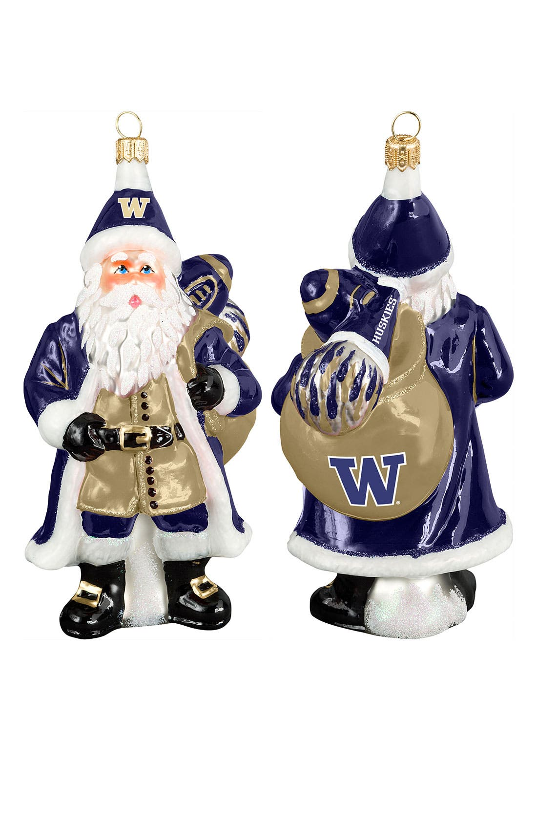 Alternate Image 1 Selected - Joy to the World Collectibles 'Washington Collegiate Santa' Ornament