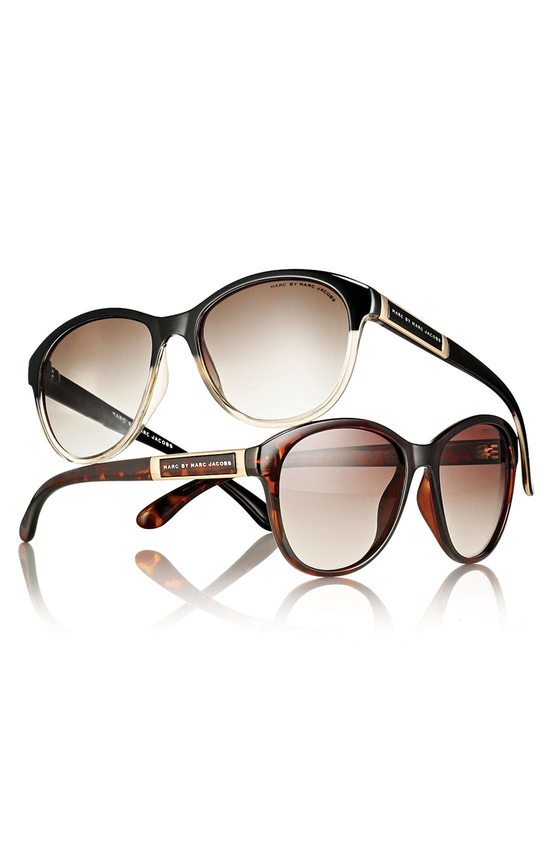 Alternate Image 2  - MARC BY MARC JACOBS Retro Plastic Sunglasses