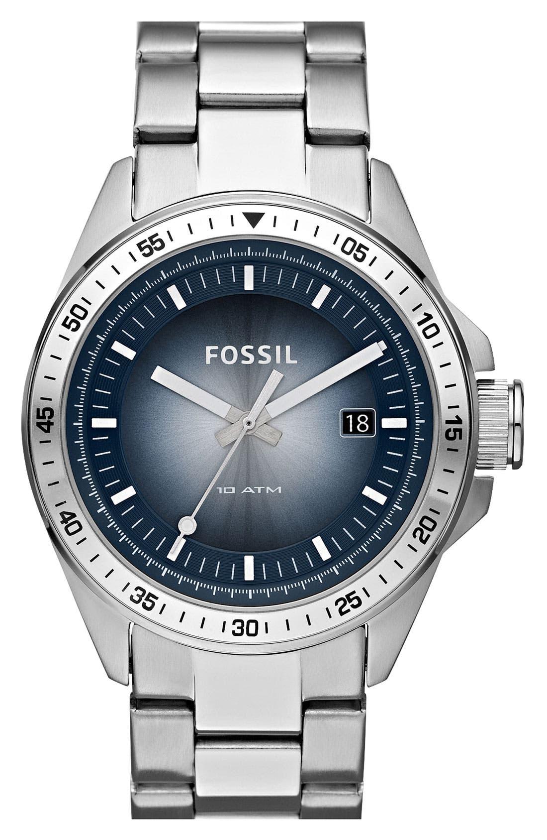 Main Image - Fossil 'Decker' Bracelet Watch