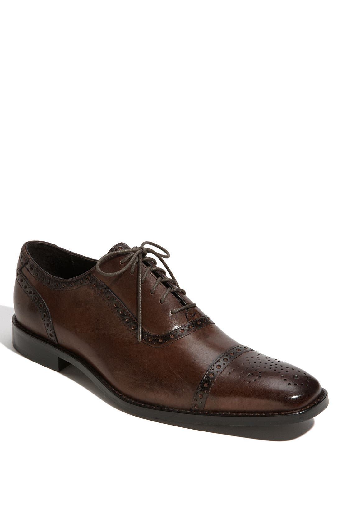 Main Image - Calibrate 'Brandon' Cap Toe Oxford