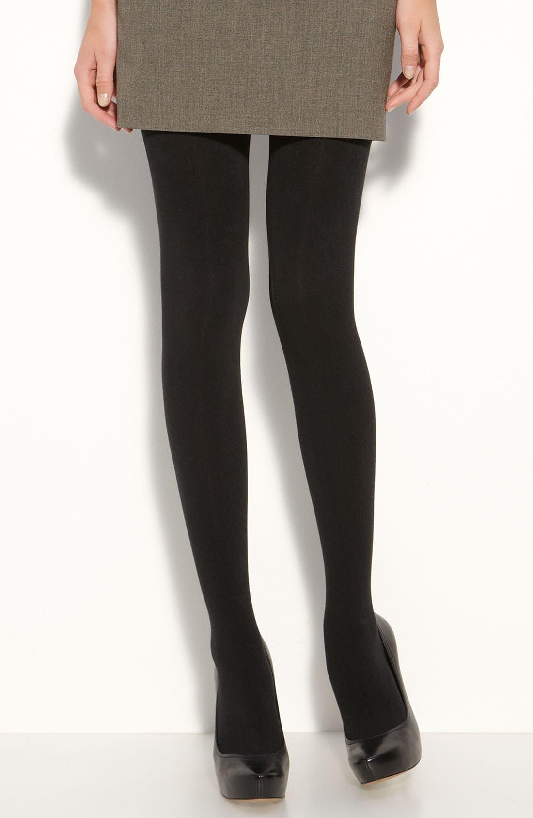 Main Image - Donna Karan 'Luxe Layer' Tights