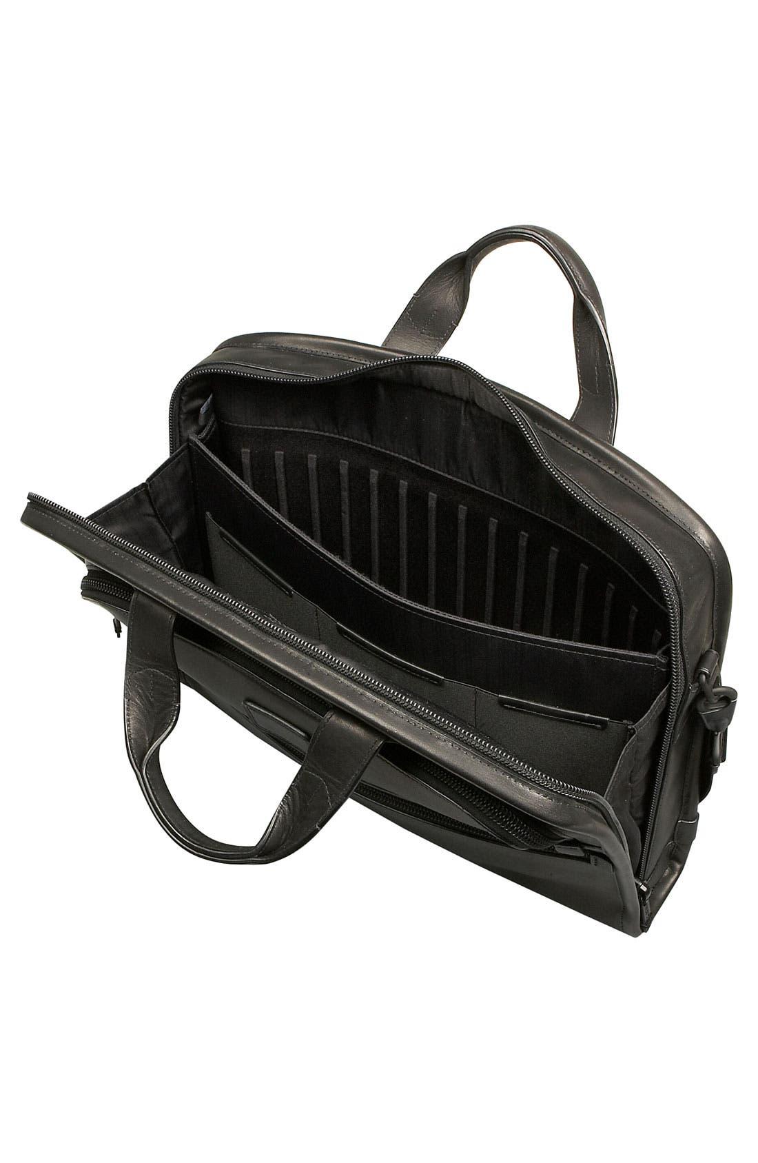 Alternate Image 3  - Tumi 'Alpha' Slim Large Screen Computer Portfolio Leather Briefcase