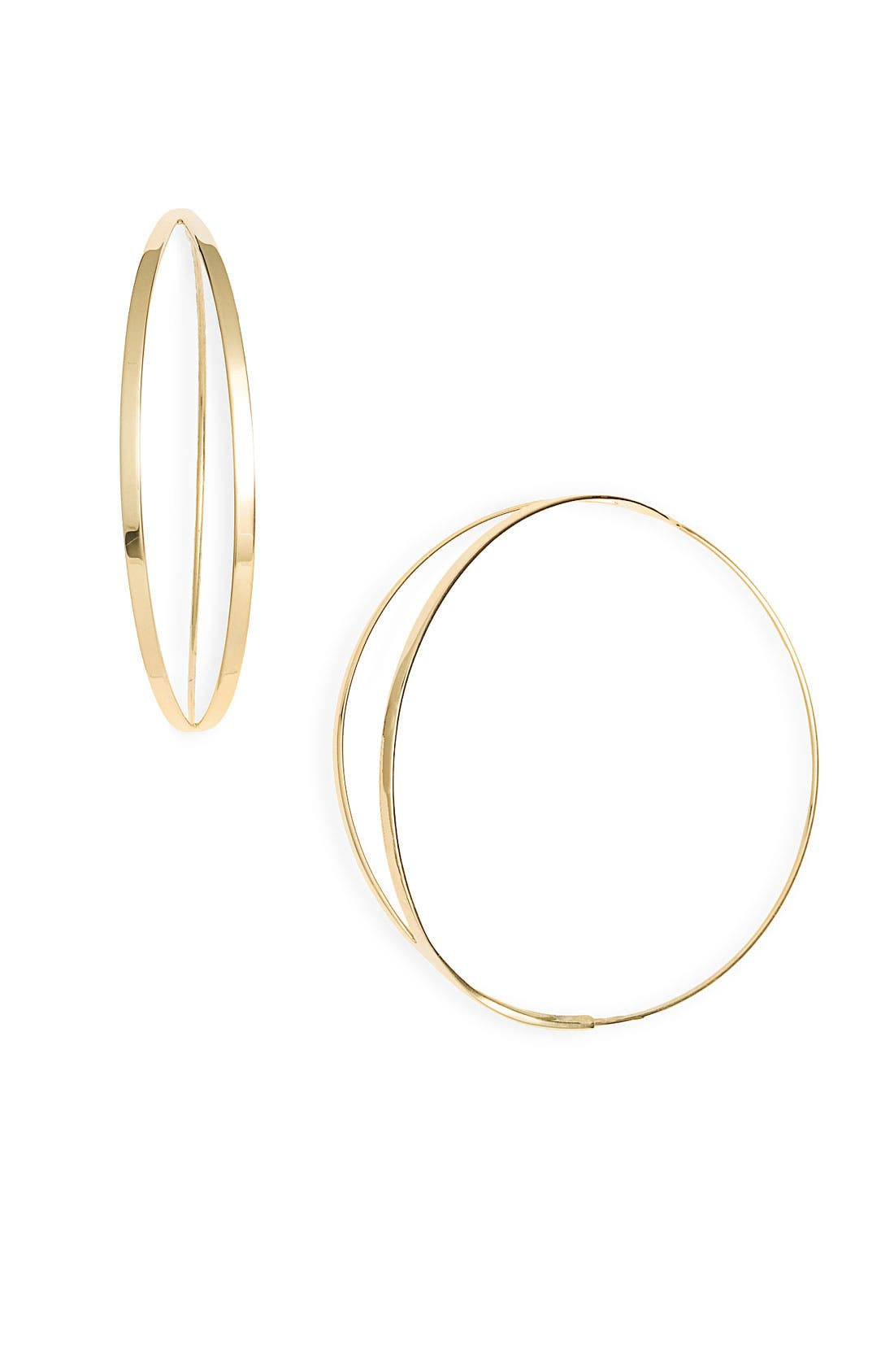 Alternate Image 1 Selected - Lana Jewelry 'Small Flirt' Hoop Earrings
