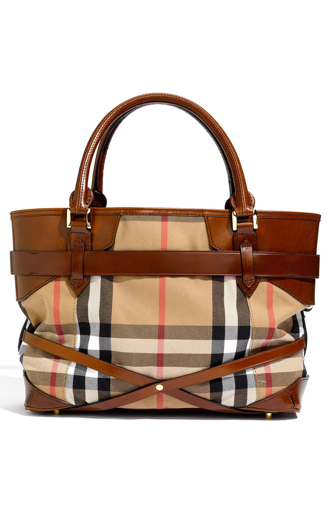 Alternate Image 4  - Burberry 'House Check' Tote, Large