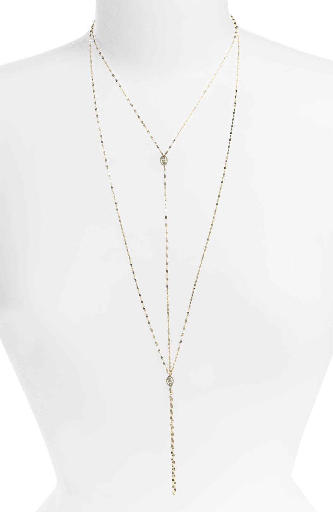 Alternate Image 1 Selected - Lana Jewelry 'Luck 'n' Love' Lariat Necklace