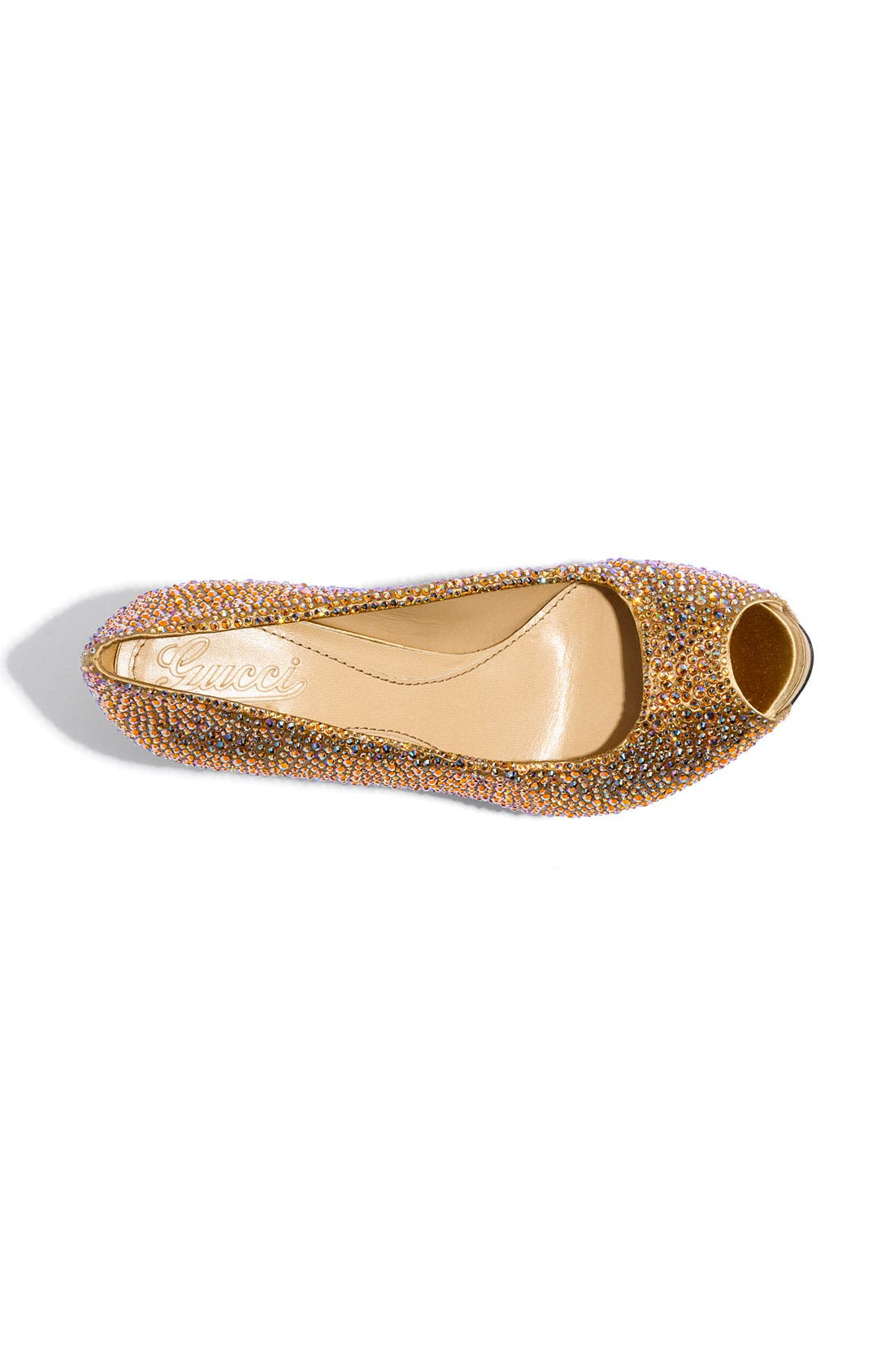 Alternate Image 3  - Gucci 'Sofia' Crystal Embellished Platform Pump
