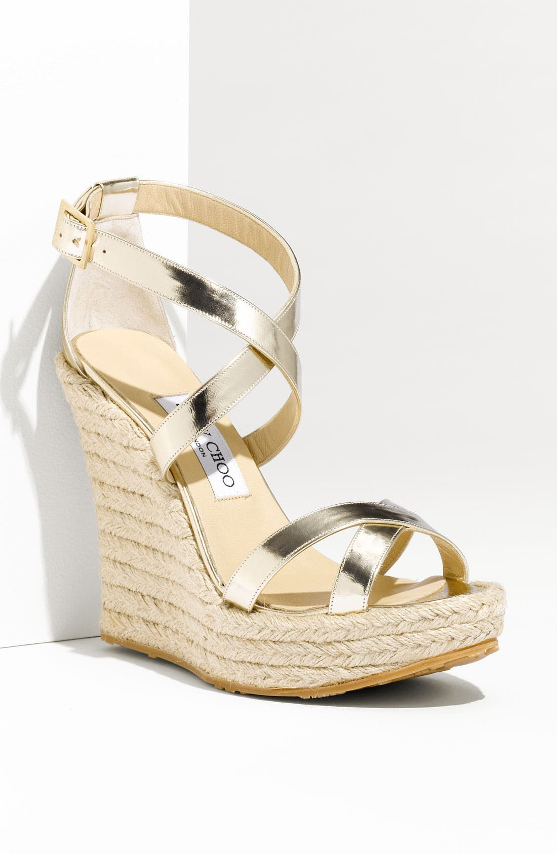 Alternate Image 1 Selected - Jimmy Choo 'Porto' Platform Espadrille