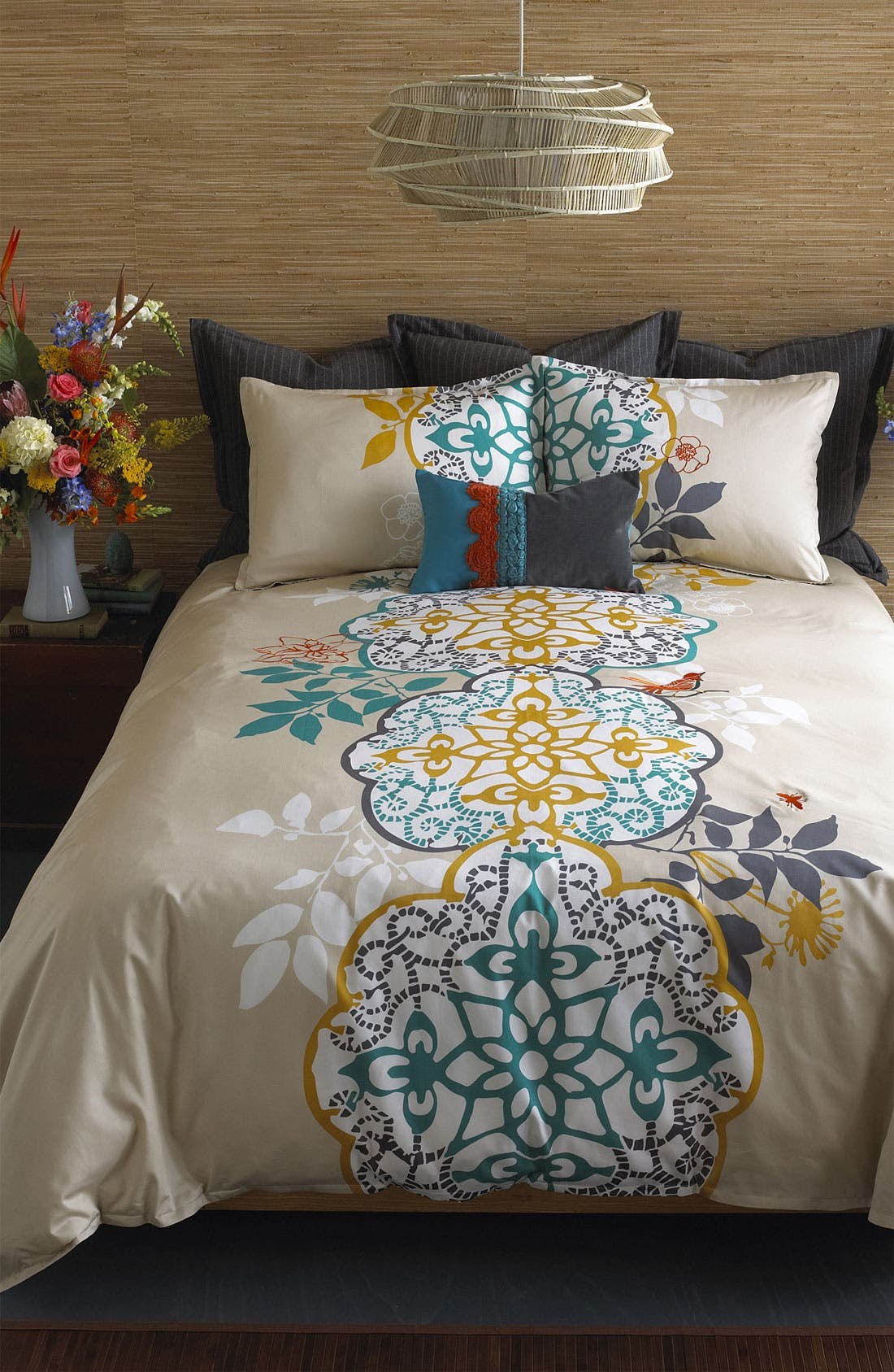 Alternate Image 2  - Blissliving Home 'Shangri-La' 300 Thread Count Duvet Set