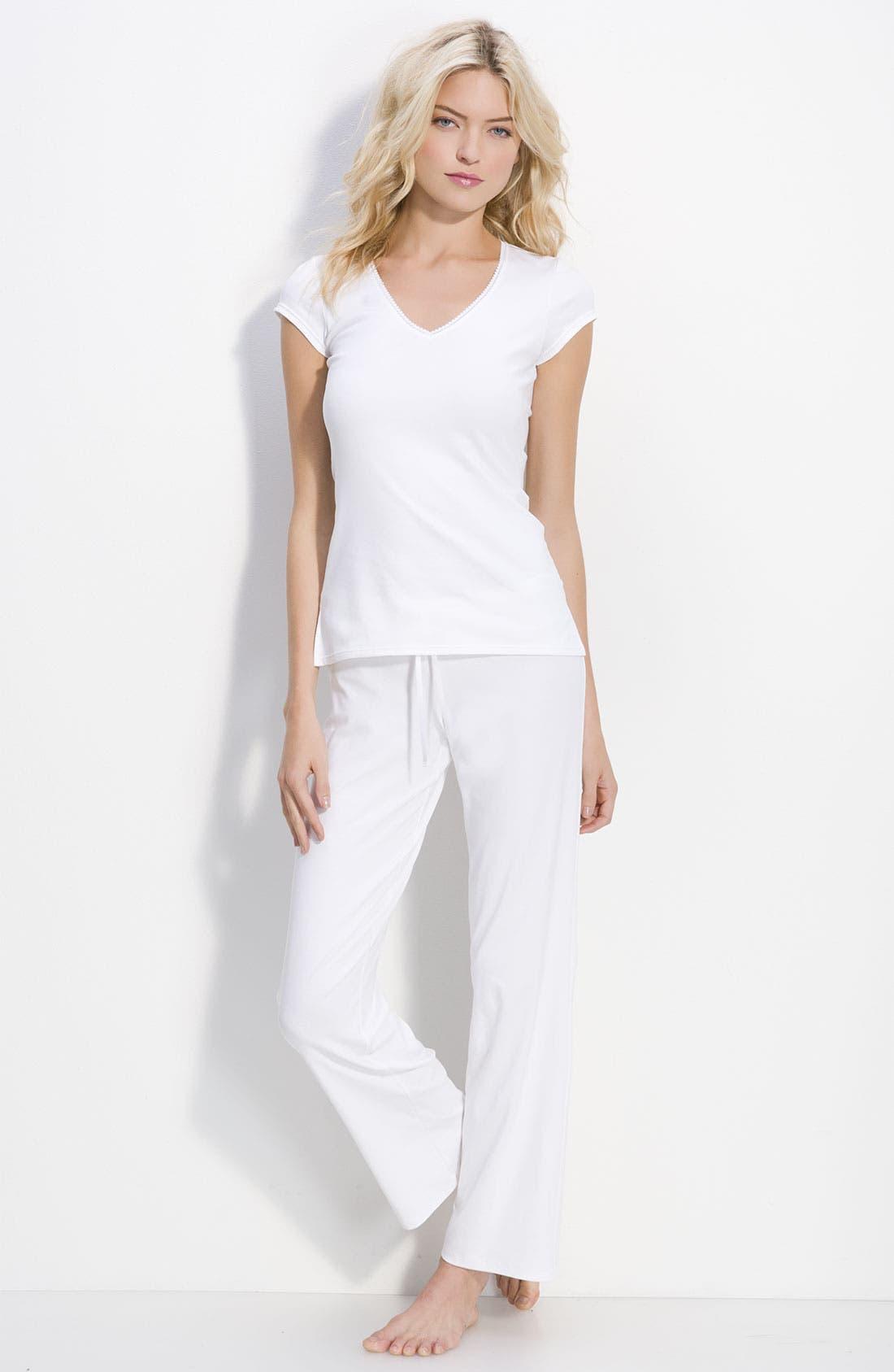 Alternate Image 1 Selected - On Gossamer 'Cabana Cotton' Pajamas